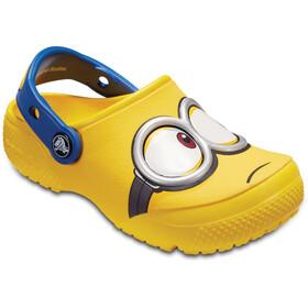 Crocs Fun Lab Minions Sandalias Niños, amarillo